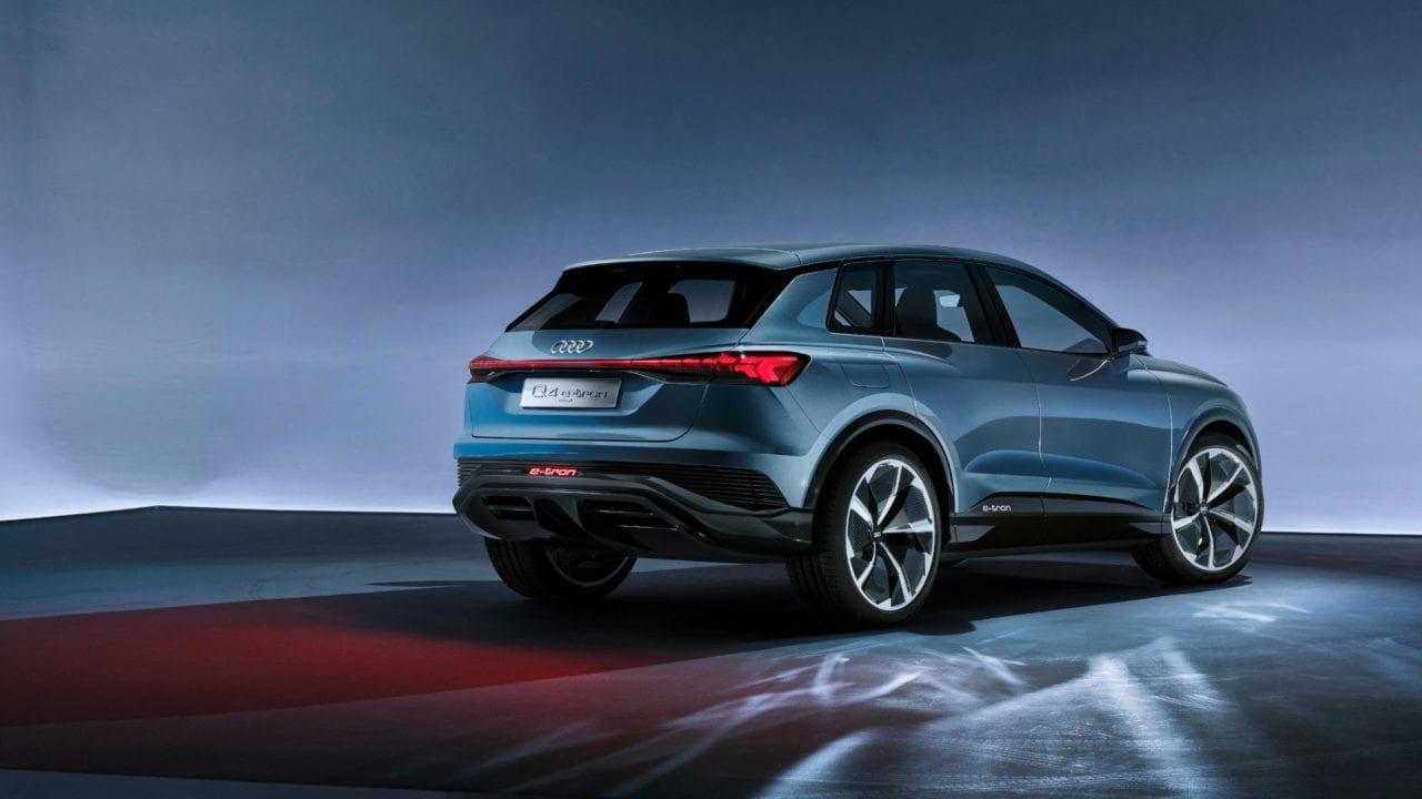 Audi Q4 etron Laadpaal
