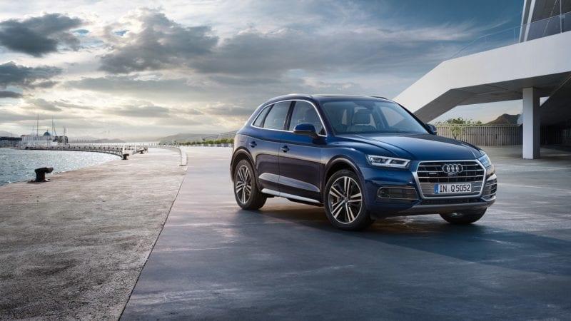 Audi Q5 etron Laadpaal