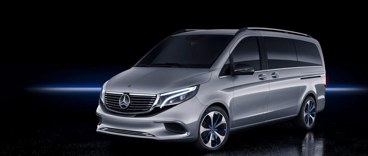 Mercedes EQV Laadpaal